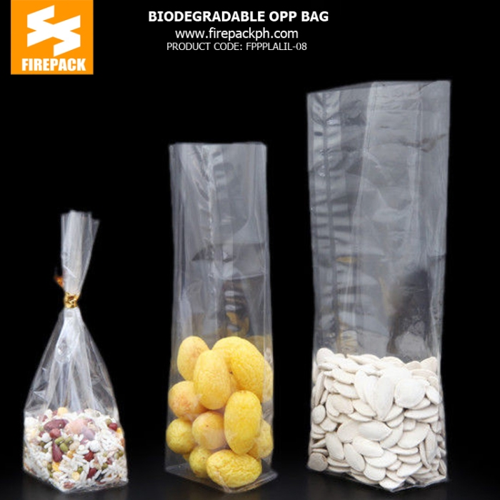 Biodegradable Pe Opp Packaging Bags , Heat Sealable Plastic Bags In Stock for supplier