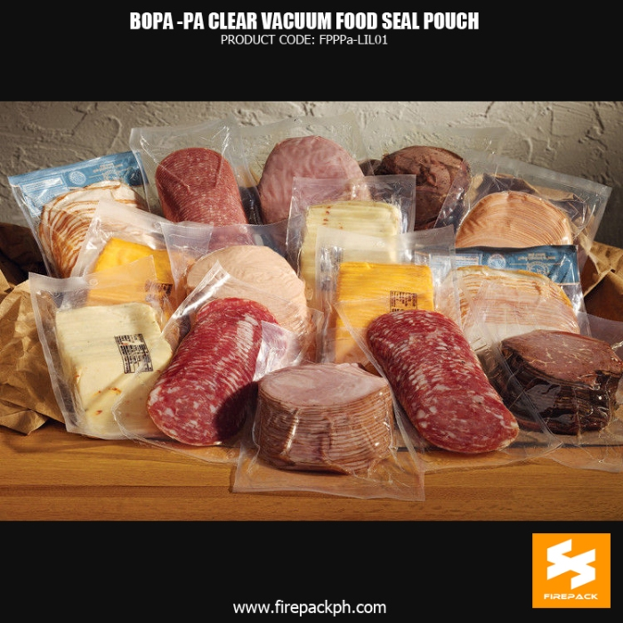 BOPA-PE Clear Vacuum Seal Food Pouch for Packing Meat supplier manila