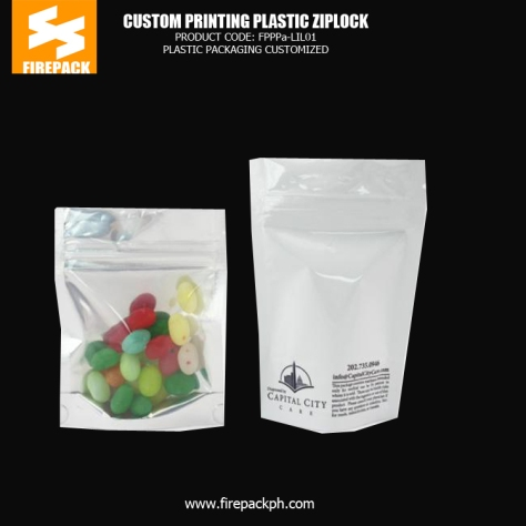 Bottom Gusset Plastic Ziplock Bags With Gravure Printing For Candy kuwait plastic supplier