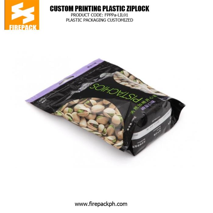 Candy Plastic Ziplock Bags , Gravure Printing Zipper Pouch russia plastic supplier