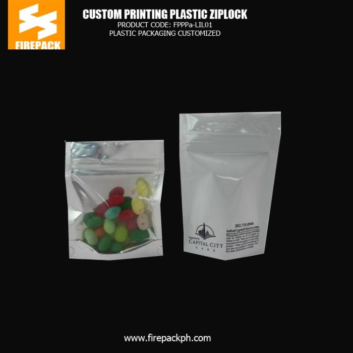 Candy , Snack Food Plastic Ziplock Bags Custom Printed BHARAIN dubai supplier