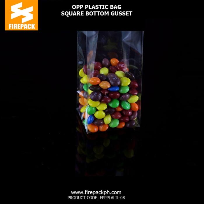 Clear plastic opp bags Custom Printed Laminated packaging supplier