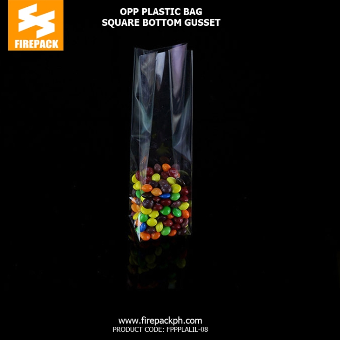 Clear plastic opp bags Custom Printed Laminated supplier maker
