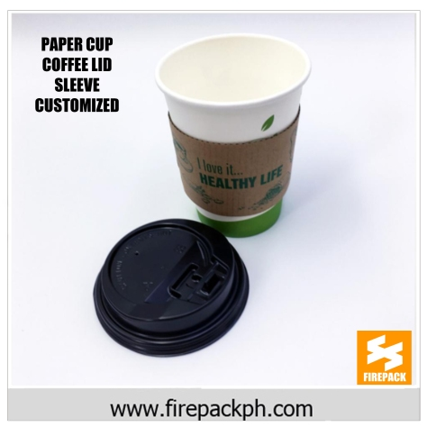 coffee cup paper with lid supplier