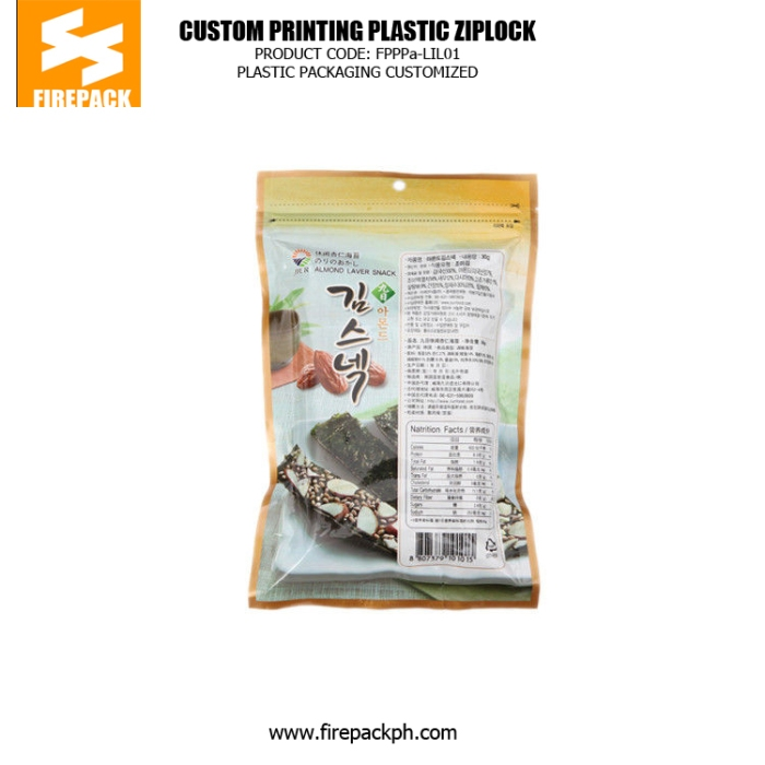 Colorful Food Grade Plastic Ziplock Bags For Candy - Sweetmeat bahrain supplier