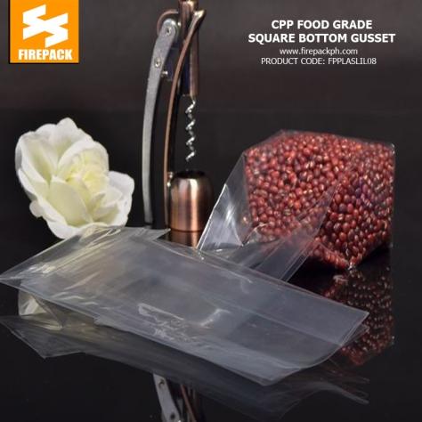 Cpp Food Grade Heat Seal Bags , Plastic Food Packaging Bags Customized Printing 4 supplier