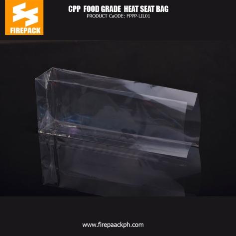 Cpp Food Grade Heat Seal Bags , Plastic Food Packaging Bags Customized Printing plastic supplier