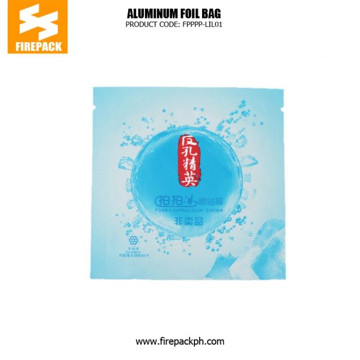 Custom Printed Colorful Aluminum Foil Bags , BOPP -AL - PE firepack