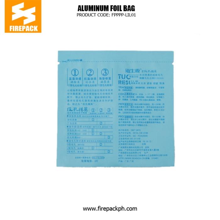 Custom Printed Colorful Aluminum Foil Bags , BOPP -AL - PEc firepack
