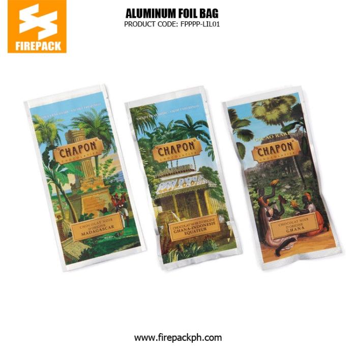 Custom Printed Laminated Coffee Bag Packaging , Lightweight Zipper Bag cebu firepack