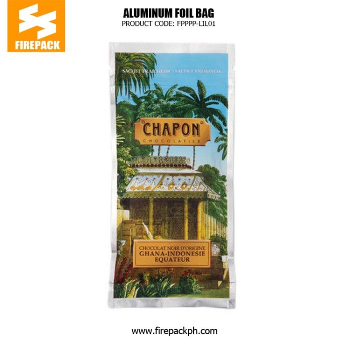 Custom Printed Laminated Coffee Bag Packaging , Lightweight Zipper Bag firepack supplier
