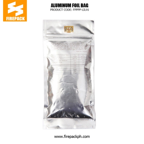 Custom Printed Laminated Coffee Bag Packaging , Lightweight Zipper Bag firepack