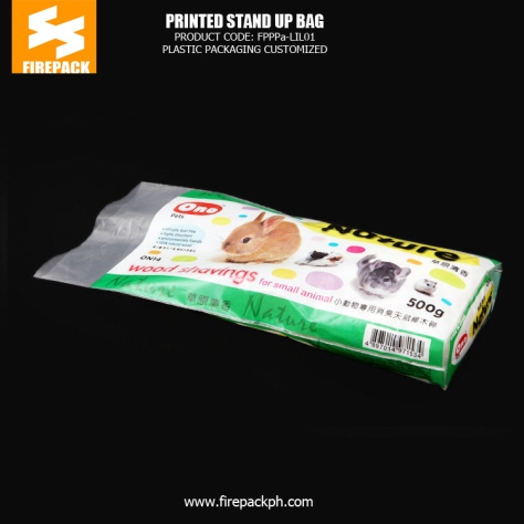 Custom Printed Stand Up Bag - Pouch Heat Seal For Dog Food firepack india japan