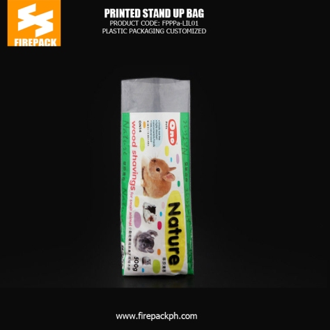 Custom Printed Stand Up Bag - Pouch Heat Seal For Dog Food plastic supplier india