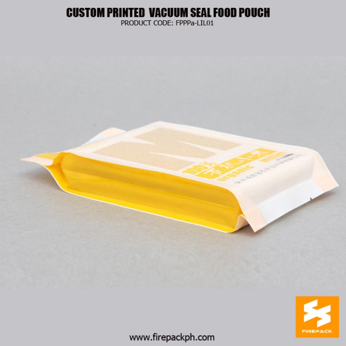 Custom Printed Vacuum Seal Food Bags With Heat Sealing , NY -PE manila suppier