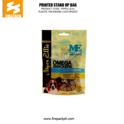 Customize Moisture Proof Pet Food Bags , Stand Up Pouches indonesia plastic packaging