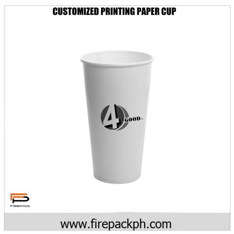 customize printing paper cup cebu firepack