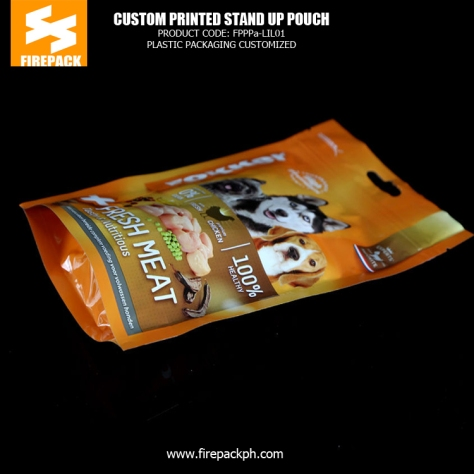 Customized Pet Food BagsGravure Printing Standing up Pouch Packaging saudi plastic supplier packaging