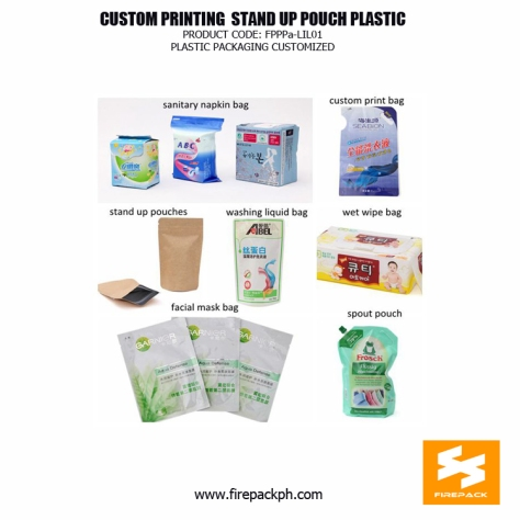 customized plastic packaging supplier manila