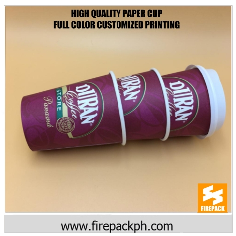 customized printing paper cups supplier cebu