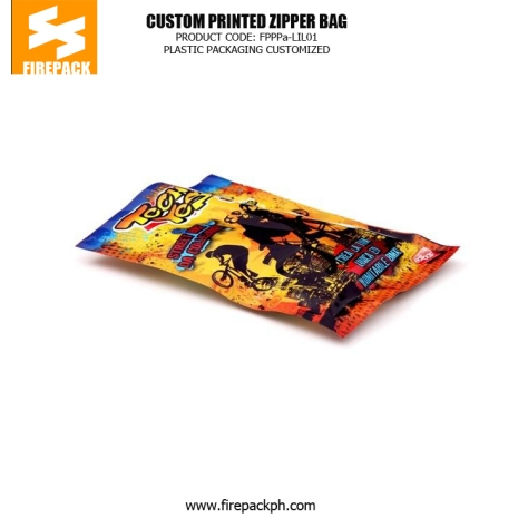 Customized Printing Zipper Pet Food Bags , NY - PE Colorful Printing firepack russia