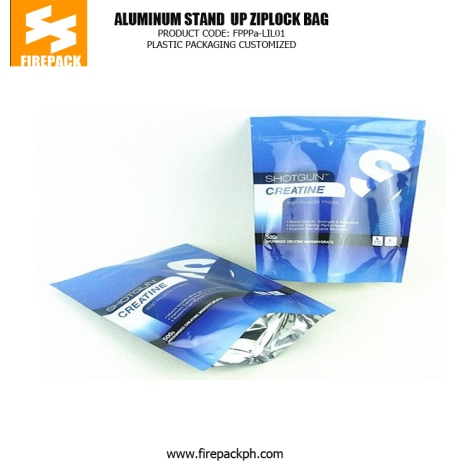 Disposable Stand up Pouch Plastic Ziplock Bags for Snack Food - Frozen Food supplier