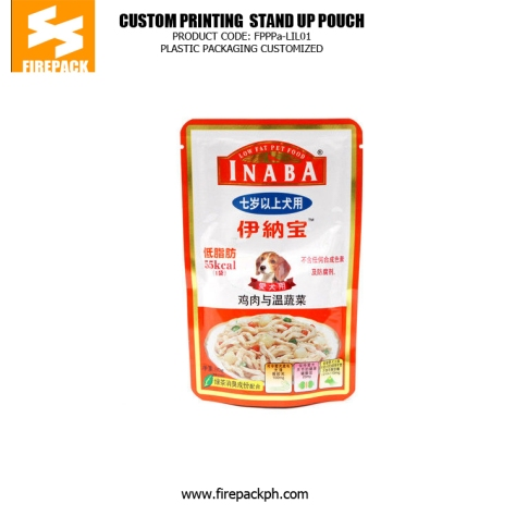 Dog Food Stand Up Aluminum Foil Bag With Gravure Printing manila supplier