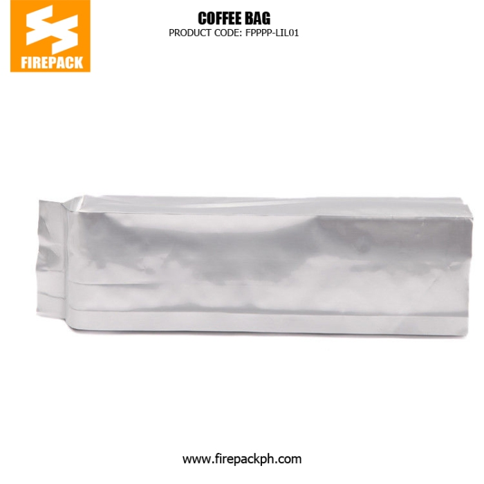 Eco-Friendly Coffee Packaging Bags , Aluminium Foil Side Seal Gusset Bag firpeack