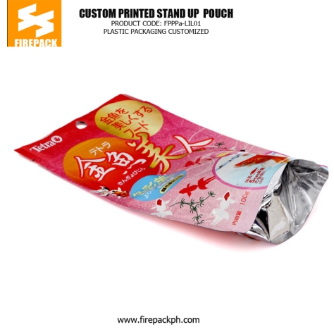 Eco-Friendly Zipper Stand Up Pet Food Bags , Gravure Printing firepack china