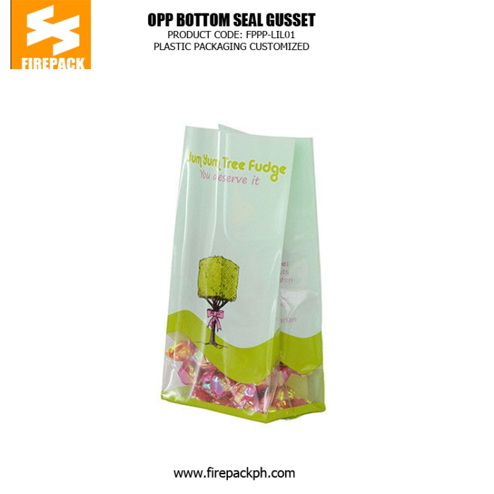 Factory Mechanized Production Plastic Bag with Square Bottom OPP Plastic Bag kuwait supplier of plastic