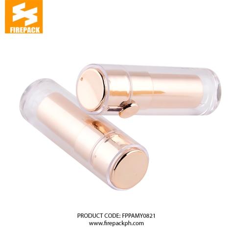 FD-1301016 (3) lisptick silver gold color supply