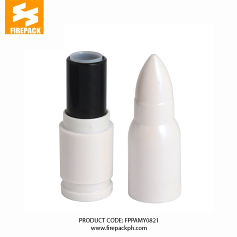 FD-146002 (3) white bullte shape lipstick