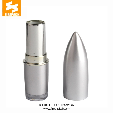 FD4402003 (1) silver bullet shape lipstick firepack