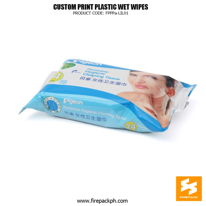 flovell care pack Baby 10pcs-pack Wet Tissue Bag Moisture Proof With Adhesive Sticker supplier maker