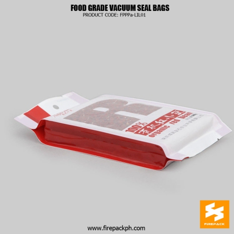 Food Grade Vacuum Seal Food Bags Heat Seal For Packing Rice supplier
