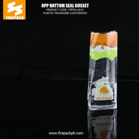 Fresh lettuce OPP Packaging Bags food packaging pouch opp bag with custom printing firepack