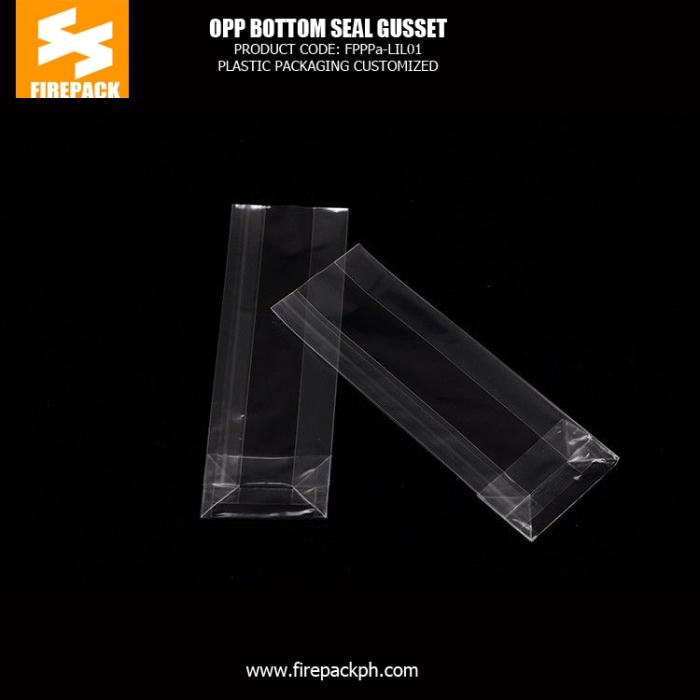 heat seal plastic OPP Packaging Bags and food industrial use opp bag firepack
