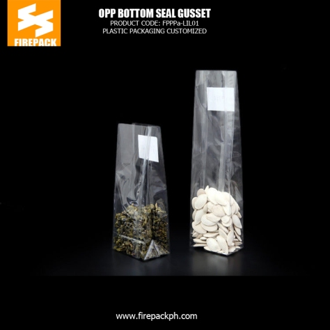 High Transparency Customized OPP Packaging Bags With Gravure Printing firepack kuwait