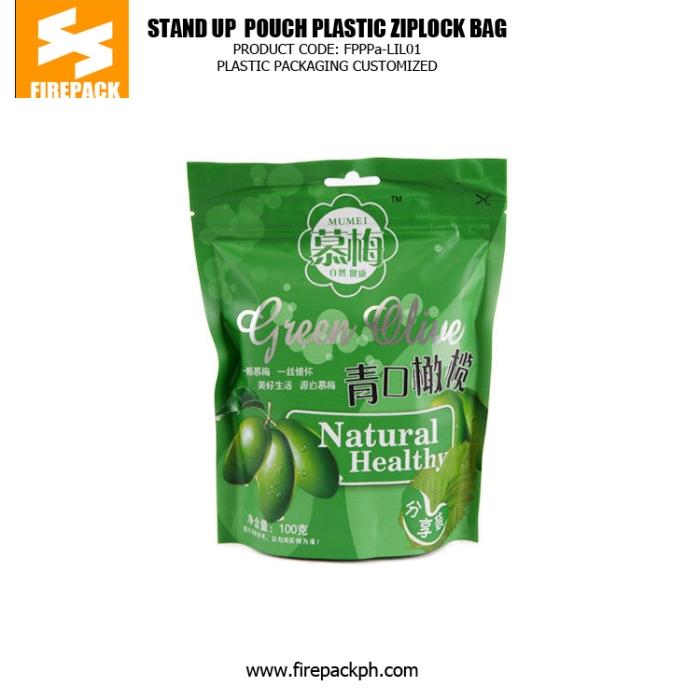 Instant Olives Plastic Ziplock Bags Bahrain plastic supplier