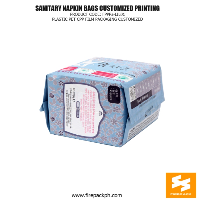 ladies useful sanitary napkin fabric paper storage Bags sanitary towel bag bulgaria supplier