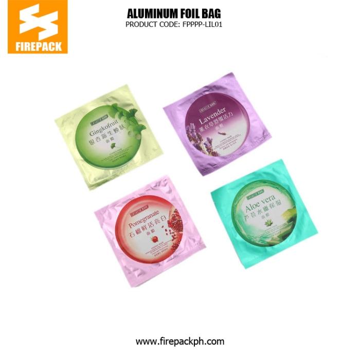 Moisture Proof Aluminum Foil Bags With Gravure Printing firepack cebu