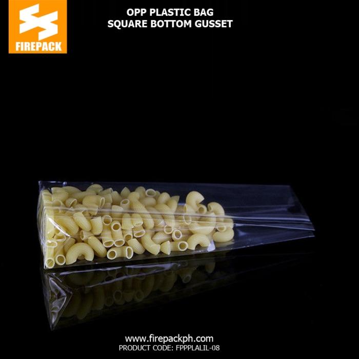 OPP Packaging Bags Transparent Customized firepack supplier