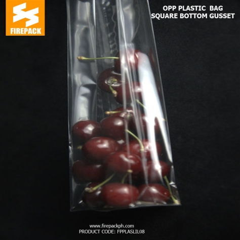 OPP Packaging Bags With 40 micron Thickness And Heat Sealing firepack