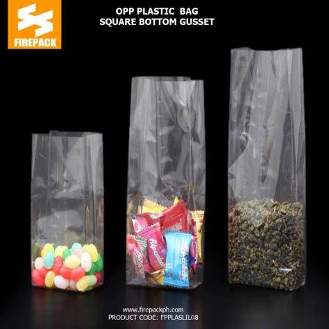 OPP PE plastic bag supplier maker cebu firepack