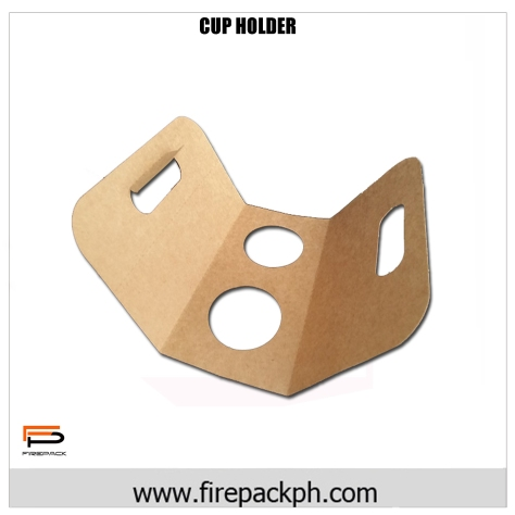 PAPER CUP HOLDER WINGS CLAYCOAT