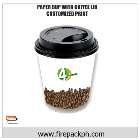 paper cups with coffee lid customized printing philippines