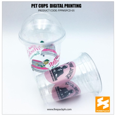 pet cups color printing 2