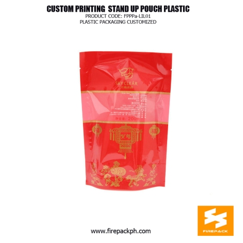 PET PE Food Grade Stand Up Bags Moisture Proof With Gravure Printing supplier