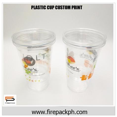 plastic cup pp plastic customized