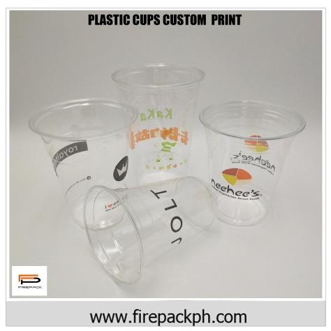 plastic cup printing